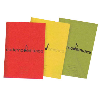 Music Notebook A4 20 Sheets